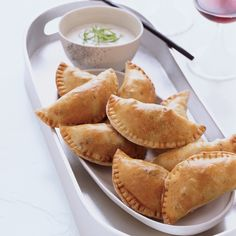 Natchitoches, Louisiana, is renowned for its meat pies. Kelly English serves his mini version with a dipping sauce that combines two quintessential So...