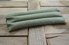 Organic Flax or Rice Heating & Cooling Pads Extra by redheadnblue
