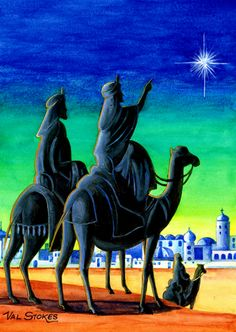 ~J  Three Kings....going to bow down to the KING of kings... JESUS