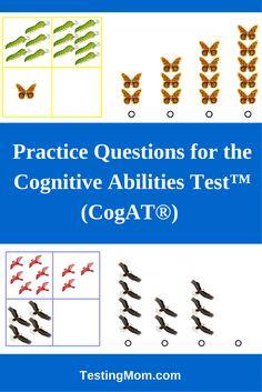 196 best cognitive abilities test or cogat free practice questions rh pinterest com Naglieri Nonverbal Ability Test Understanding CogAT Scores