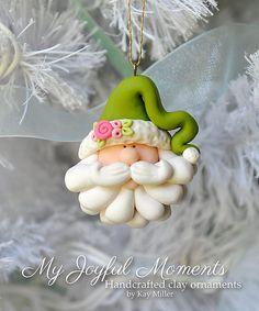 Polímero artesanales arcilla Santa Claus por MyJoyfulMoments