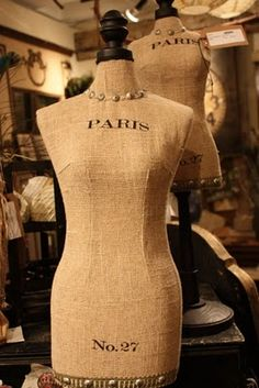 La vie parisienne, this lady has quite a few nice dress forms on her board.