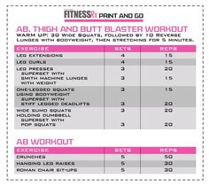 Want to achieve the lean and fit body of an athlete? Then look no further than this Ab, Thigh and Butt Blaster from IFBB Bikini Pro Justine Munro. This workout will get you the small and tight body you dream of, while at the same time helping you to...
