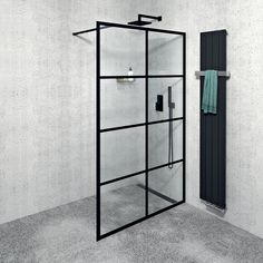 Walk-in zástěna Cure Black (Foto: www.sapho.cz) Decor, Medicine Cabinet, Glas, Room Divider, Shelving Unit, Home Decor, Bathroom