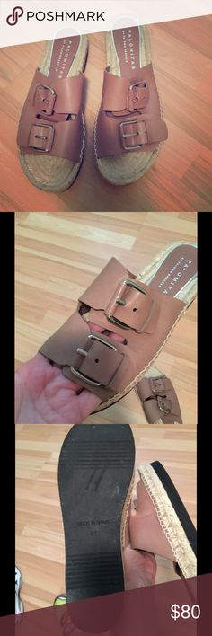 Palomitas sandals Great condition ! Worn Twice .. looks like new!! Paloma barcelo Shoes Flats & Loafers