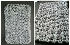 Crochet Patterns for the beginner or the advanced: Offset Cobble Stitch Baby Blanket