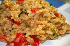 Recipe Risotto with Tomato and Mascarpone Cheese