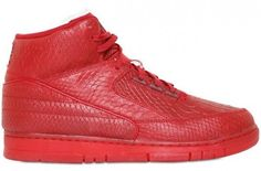 9154eede42fdc6 Next up for Nike Sportswear s retro of the Air Python is an almost full red  colorway of the Air Jordan Force II.