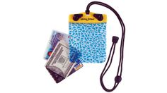 Waterproof wallet: Keeps your cash dry while you take a dive.