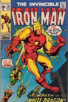 Iron Man #39. Cover by Herb Trimpe. #IronMan #HerbTrimpe