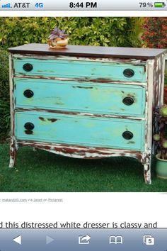 Chalk paint furniture! Love!!