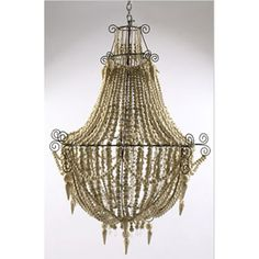 Mud Bead Chandeliers made  in Africa
