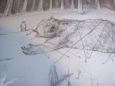 L'écureuil et l'étrange visiteur -  Sebastian Meschenmoser