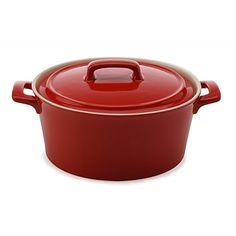 Briscoes - Maxwell & Williams Chef Du Monde Round Casserole Red 600ml