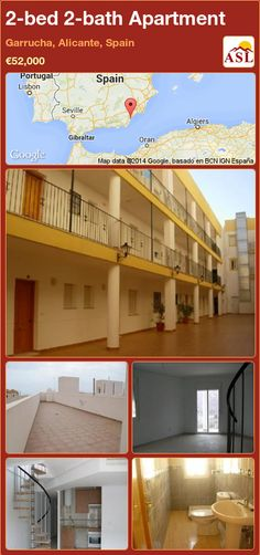 2-bed 2-bath Apartment in Garrucha, Alicante, Spain ►€52,000 #PropertyForSaleInSpain