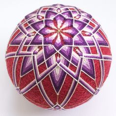 Ŧhe ₵oincidental Ðandy: A Feast For The Eyes: The Artful Geometry of Japanese Temari Thread Balls
