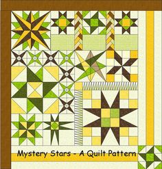 Mystery Stars - A Quilt Pattern