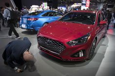 """Mary Altaffer, AP       Just as the latest """"The Fast and the Furious"""" sequel is debuting, automakers at the New York International Auto Show clearly think some of their customers still have a need for speed. Jeep proudly rolled out a 707-horsepower Grand Cherokee that it says can... http://usa.swengen.com/5-cars-turning-heads-at-the-new-york-auto-show/"""