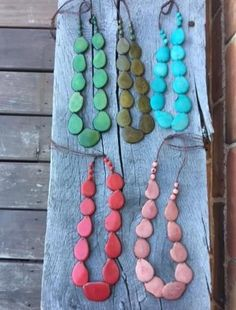 Single Strand Necklace by Dunamis from Ecuador ($25)