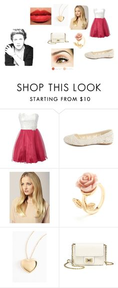"""Untitled #72"" by princessnia16 ❤ liked on Polyvore featuring Charlotte Russe, Hershesons and Juicy Couture"