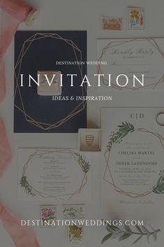 93 Best Destination Wedding Invitations