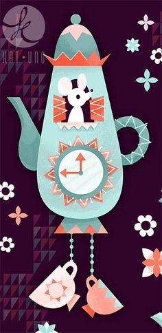 Tea Time! Via katuno.com/blog