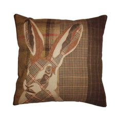 A love of nature and of recycling has inspired me to create this brand new range of tweed animal appliqué cushions. Each unique cushion is designed