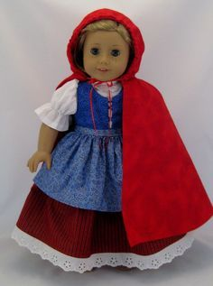 american girl doll little red riding hood - Google Search