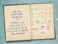 Smiley Photoshop Brushes by HGGraphicDesigns*