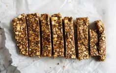 These sticky, no bake bars are so easy to make and taste delicious.
