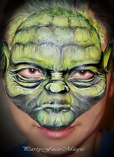 Awesome This Is ~ Yoda ~ face art
