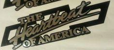 Chevy Heartbeat of America Bowtie Vinyl Decal Sticker Truck Silverado 4x4 by SharisVinylEmporium on Etsy