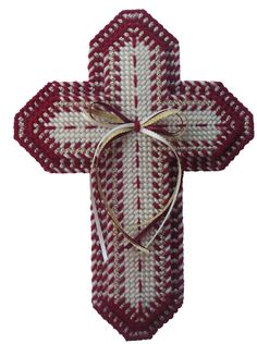 PDF format Burgundy Cross Set By Lori Steinman by kathybarwick, $6.20