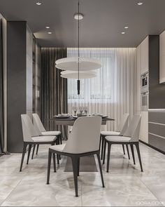 Monochrome apartment on Behance