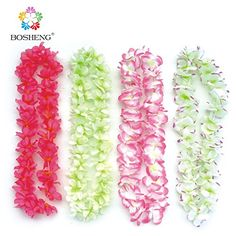BOSHENG Party& Festive Supplies Hawaiian Flower Lei Garland/Hawaii Cheerleading Products Hawaii Necklace 4pcs/lot Wreath BOSHENG http://www.amazon.com/dp/B01E52VLA6/ref=cm_sw_r_pi_dp_cSzdxb1J47E8D