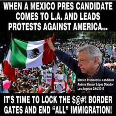"Mexico doesn't want to lose the $20 billion the illegals are sending home.  Tom Tancredo stated ""Mexicans living and working in the U.S. send home over $20 billion annually in cash remittances — more than Mexico earns in foreign currency from tourism or any export commodity.  In 1979, Mexico received only $177,000 (U.S. Dollars) in remittances; in 2016 it was $26.1 BILLION — over 90 percent of it from persons living in the United States."""
