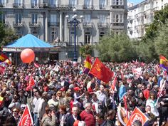 Cantabria no se resigna - Manifestación #1demayo, Santander, Cantabria (3) May 1st march, Santander, Spain