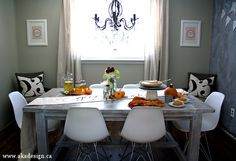 love this table- ammae for our dining room Dougie?????