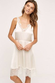Laced Silk Chemise