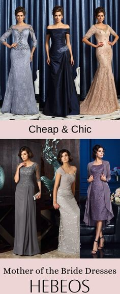 Cheap Mother of the Bride Dresses on Sale! Choose your perfect look at hebeos now! wedding weddingparty weddingplanner weddingguest motherofthebride is part of Dresses - Mother Of Groom Dresses, Bride Groom Dress, Mothers Dresses, Bride Gowns, Mother Of The Bride, Simple Dresses, Elegant Dresses, Pretty Dresses, Beautiful Dresses