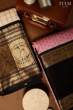 Pattu Sarees Wedding, Indian Bridal Sarees, Wedding Silk Saree, Indian Silk Sarees, Soft Silk Sarees, Cotton Saree Designs, Saree Blouse Neck Designs, Kanjivaram Sarees Silk, Kanchipuram Saree