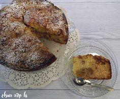 עוגת תפוחים בחושה - על קצה המזלג - תפוז בלוגים
