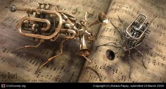 Title: The Duet  Name: Balázs Pápay  Country: Hungary  Software: 3ds max, Photoshop, VRay