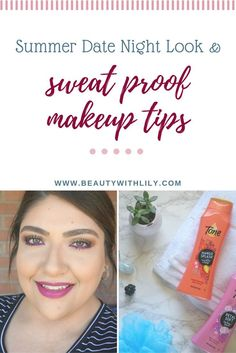 Summer Date Night Routine & Sweat Proof Makeup Look & Tips // Beauty With Lily, A West Texas Beauty, Fashion & Lifestyle Blog #AD #FindYourTone #HowITone