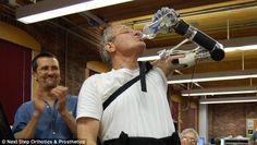 Luke Skywalker's Prosthetic Arm Is Now A Reality - Artificial Intelligence Online http://sco.lt/... #tech #ehealth