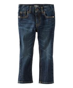 Look at this #zulilyfind! Dark Wash Nick Jeans - Toddler & Boys by OshKosh B'gosh #zulilyfinds