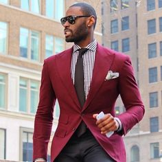 2017 New Red Slim 2 Pieces Men Suit Blazers With Pants Fashion Evening Party Tuxedos mens suit ( Jacket+Pants+Tie+Handkercheif) Costume Rouge, Mode Costume, Mens Suit Vest, Mens Suits, Suit Jacket, Suit Fashion, Fashion Pants, Mens Fashion, Blazer Bleu