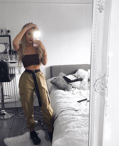 Shop for trendy swimwear, clothing and accessories for women at affordable prices Teenage Outfits, Teen Fashion Outfits, Girl Fashion, Bad Girl Outfits, Ootd Fashion, Daily Fashion, Fashion Beauty, Cute Casual Outfits, Edgy Outfits