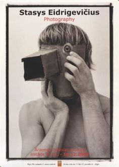 Stasys Eidrigevicius, Stasys photography exhibition Riga, 2006