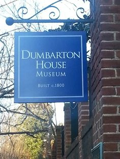 Dumbarton House in Georgetown New Trucks, Ancestry, Museums, Road Trip, Lettering, Big, House, Home, Road Trips
